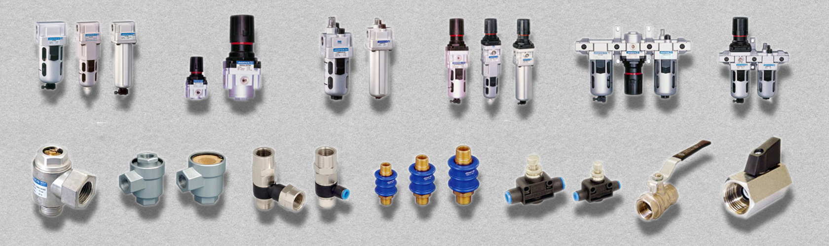 Air Preparation Unit & Inline Valves