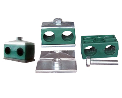 Twin Pipe and Tube Clamps